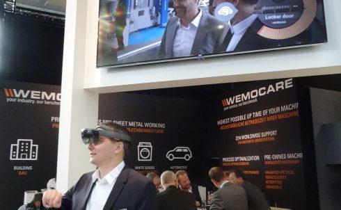 De EuroBlech 2016 is het toneel voor zowel nieuwe soft- als hardwareoplossingen. Op de stand van Wemo werden de voordelen van AR gepresenteerd