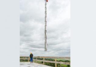 Van Beek levert langste verticale transportschroef aan Feed Valid.