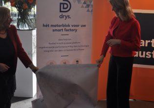 Staatssecretaris Mona Keijzer onthult Drys.