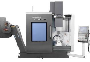 Doosan DVF 5000 5-assig simultane bewerkingscentrum.